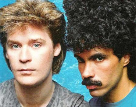 Hall and Oates and Hair by Phlll