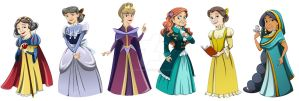 Disney: Ever Afters by racookie3