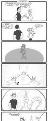 Sketch comic - Beginners luck by HiSS-Graphics