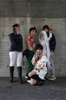 Deadman wonderland group by ShuzaCosplay