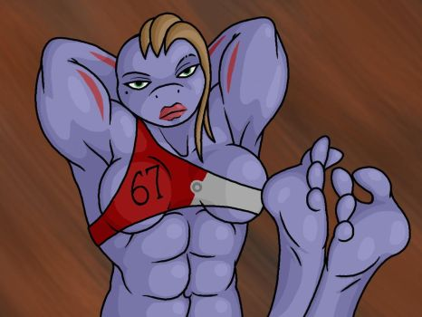 Machoke Lady by Lord-Reckless