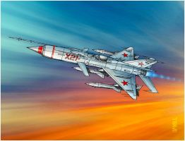 MiG-21X by tomzoo
