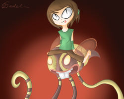 Kiriban Prize: Ze Bee Ride by cloudmuffin727