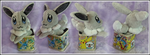 Custom Shiny Eevee Beanie in a Can by SakuSay