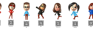 Karen and Friends-Characters + qr codes by DTLRaposa-fan-2003