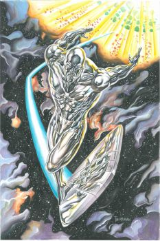 Silver Surfer by 777thorman