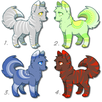 Adorable Canine Adoptables! 10pts each! by DailyAdoptables