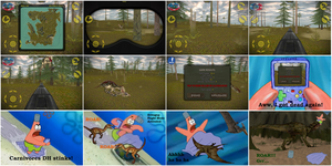 Carnivores: Dinosaur Hunter for mobile devices by Dinodavid8rb