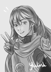 Lucina sketch by Yuulinshi