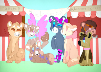 1.5 ~ The park will open in one hour... by rockythebunny13