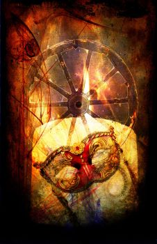 Tease Tarot: The Wheel by StellaPrice