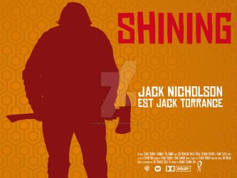 Shining movie poster by Synystervida