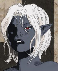 Maylara the Drow by Shabazik