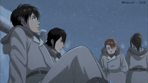 [SNK FSC] - During the mission in the snow by Manuyo-kun