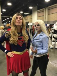 Supergirl and Killer Frost! by AstridGoesForASpin