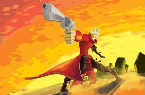 Vash the Stampede by OfficialCire