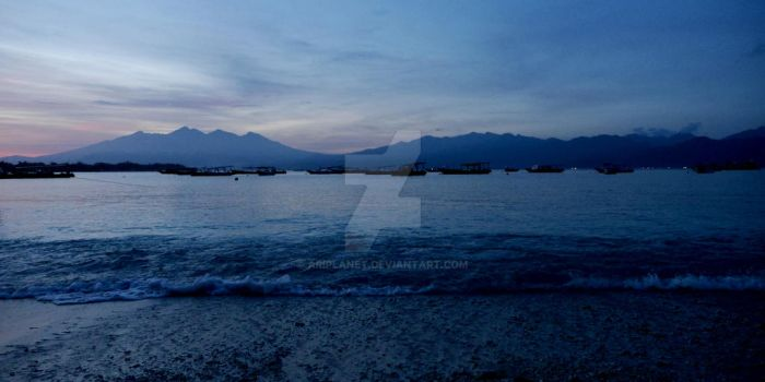 Lombok Mountains by AriPlanet