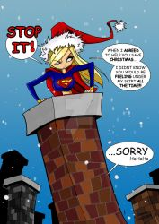 SuperGirl Saves Xmas- TheBoo by THE-Darcsyde