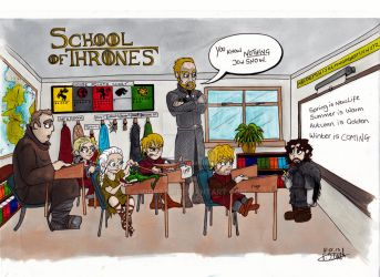 School of Thrones by Iddstar