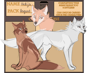 WoLF: Origin Meme | Hellija by Snowy-Owl-Of-Dawn