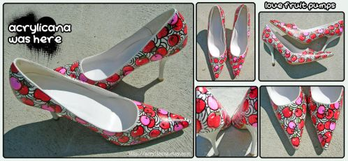 Love Fruits Pumps by marywinkler