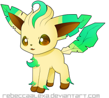Leafeon Icon by RebeccaAlexa