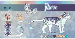 Tiger Adoptable auction// Nieve// CLOSED by Belliko-art