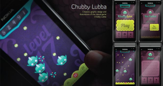 Chubby lubba mobile game by naraosga