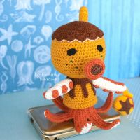 Amigurumi Zucker from Animal crossing by LerumaDolls