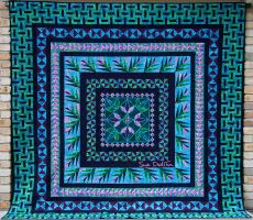 Sampler Medalion by suedollinQuilts
