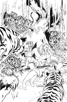 Zenescope- GFT JUNGLE BOOK FALL WILD #3 cover D by tinavalentino80