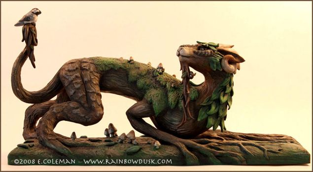 The Forest Spirit by emilySculpts