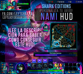 NAMI HUD League Of Legends by LeftLucy