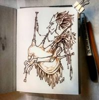 Instaart - Fairy Bagpiper by Candra