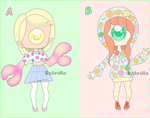 Xcycrablang Adoptables OPEN!!!! by JungRaeJin