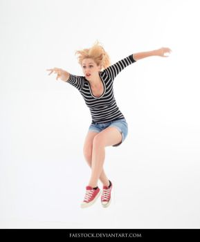 Jumping - Action Pose Reference 16 by faestock