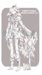 [GACHA] Adoptable: Monochrome IV by Staccatos
