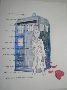 Sanwall 8 2 Doctor And His TARDIS By Descendingrival