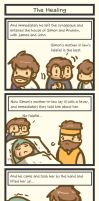 Book of Mark comic: The Healing by Poporetto