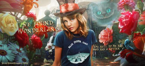 Taylor in Wonderland by valeryscolors