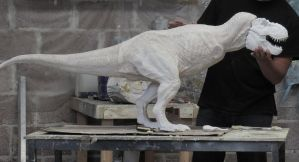 T REX 1/8th WIP by GalileoN