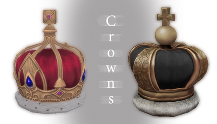 [MMD] Tera crowns - DL by JoanAgnes
