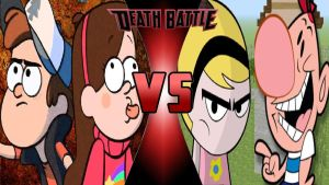 Dipper and Mabel vs. Billy and Mandy by OmnicidalClown1992