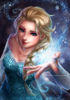 The Snow Queen of Arendelle by RedPear