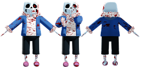 MMD HorrorTale Sans (DL) by KittyNekkyo