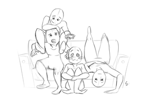 Draw The Squad 2 by ShorterThanTheEeasel