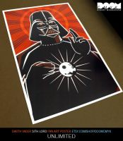 Darth Vader Sith Lord Unlimited by DoomCMYK