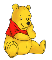 pooh bear by Shinteki
