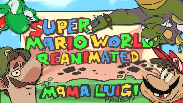 Mama Luigi Reanimate Collab on YouTube NOW! by AndrewDickman