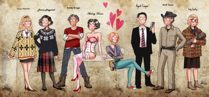 Twin Peaks - Heroes by lilis-gallery